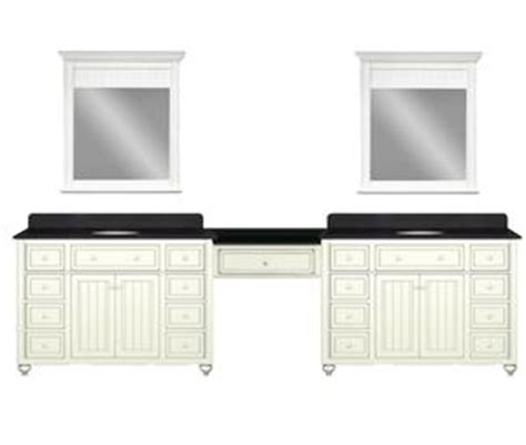 Bathroom Vanity With Makeup Station by Modular Cottage Style Bathroom Vanity Sets From Sagehill