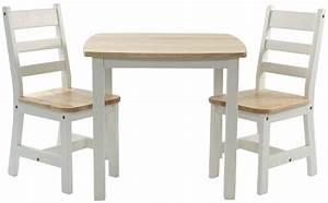 Kinder sitzgruppe mit kindertisch tisch und 2 st hlen for Tisch und stuhl