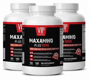 Pre Workout For Men Testosterone - Maxamino Plus 1200 3b- Muscle Strength