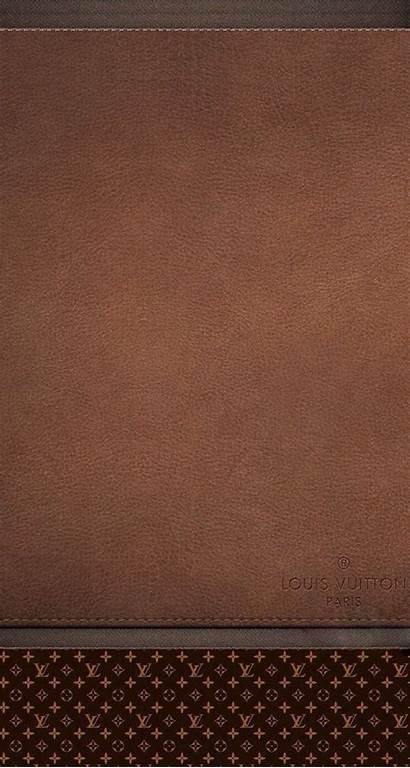 Iphone Brown Leather Vuitton Louis Homescreen Apple