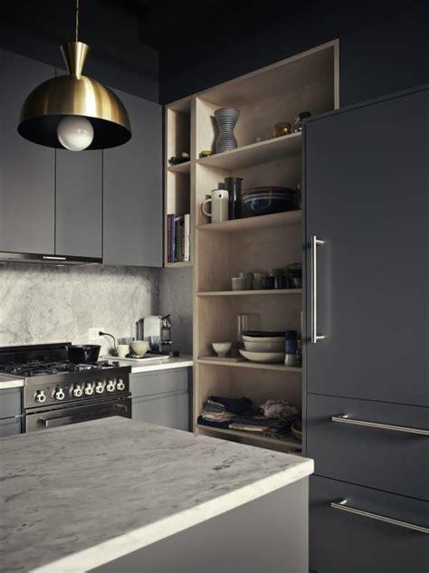 cuisine invisible la hotte aspirante est invisible cachée dans le meuble cuisine