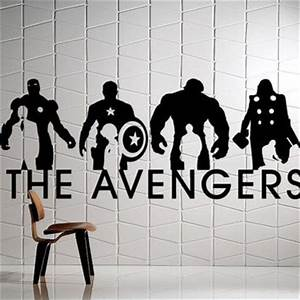 Avengers IRON MAN Silhouette Removable from AbruptDesign