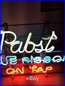 Vintage Neon Pabst Blue Ribbon Tap Beer Sign PBR 3