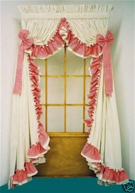 dotted swiss priscilla curtains best 25 ruffled curtains ideas on ruffle