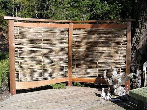 woven fences images  pinterest