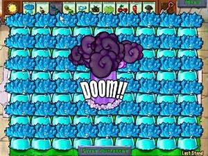 plants vs zombies 100% ICE SHROOM HACK POP CAP - YouTube