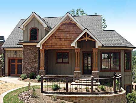 plan mx mountain home  vaulted ceilings craftsman house plans cottage house plans