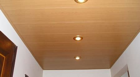plafond en pvc pose maison travaux
