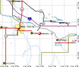 Twin Falls Idaho Map