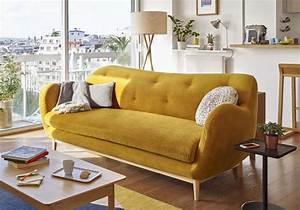 canape en velours notre shopping pour un salon glamour With canapé convertible fly avec tapis tendance