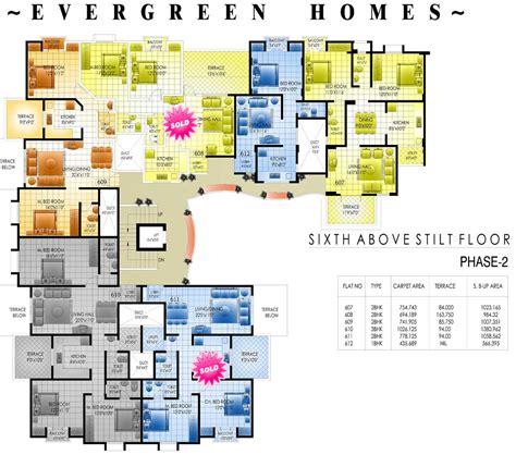 apartment designs apartments apartment plans 30 200 sqm architecture design then cute colourful floor plan
