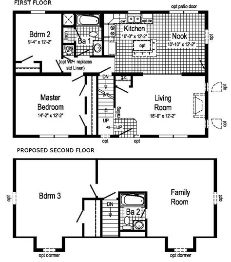 fresh cape  style homes floor plans  home plans design