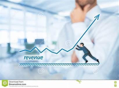 Revenue Increase Growth Accelerate Concept Businessman