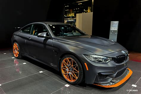 Bmw M4 Gts At 2016 Chicago Auto Show