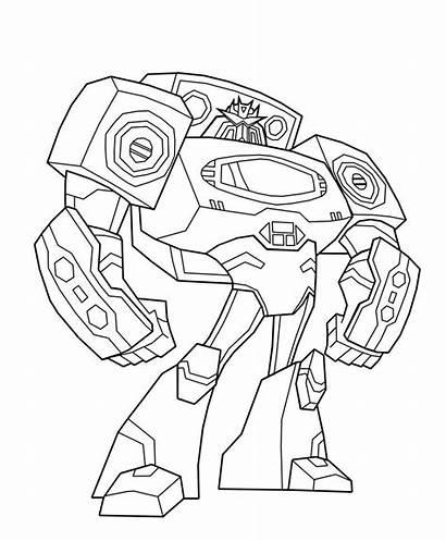 Transformers Coloring Transformer Colorare Rescue Bots Printable
