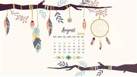 august  hd calendar wallpaper wall calendar