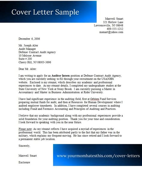 cover letter examples cover letter templates