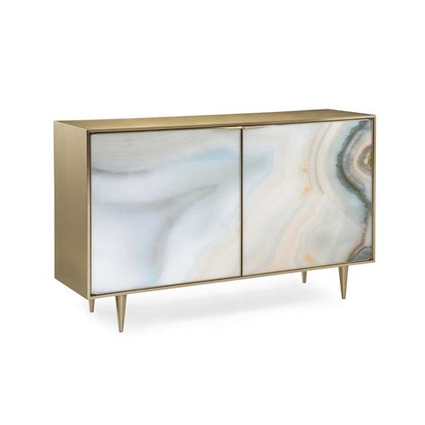 caracole extrav agate two drawer agate cabinet