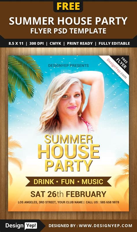 summer flyer templates free 64 best images about free flyers on pinterest flyer