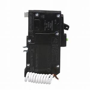 Square D Qo120afi   Miniature  Dnr  Circuit Breaker 120v