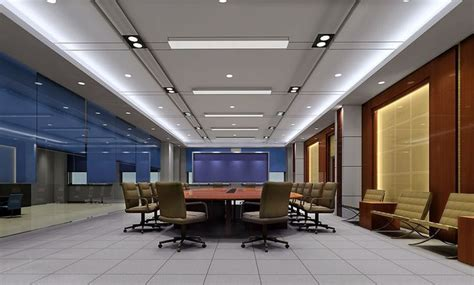 conference room ceilings  walls design  commercial