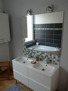 Catalogue Salle De Bains Ikea : sup rieur lumiere salle de bain ikea 4 salle de bains la maison du sart digpres ~ Dode.kayakingforconservation.com Idées de Décoration