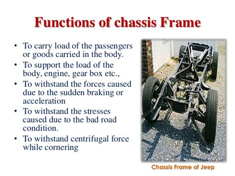 Automobile Chassis Frame