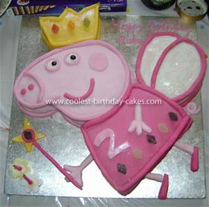 coolest peppa pig cake With peppa pig cake template free