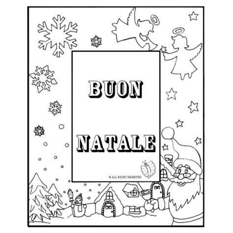 Cornice Di Natale Per Bambini Disegno Di Cornice Buon Natale Da Colorare Per Bambini