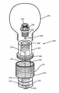 Patent Us8201985 - Light Bulb Utilizing A Replaceable Led Light Source