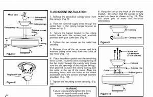 Do You Have Installation Instructions For Hampton Bay Fan