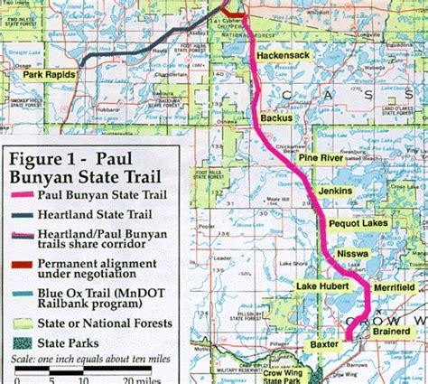 Snowmobile Minnesota on the Paul Bunyan Trail - Brainerd ...