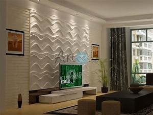 3D Textured Wall Panel for Living Room Home Decor