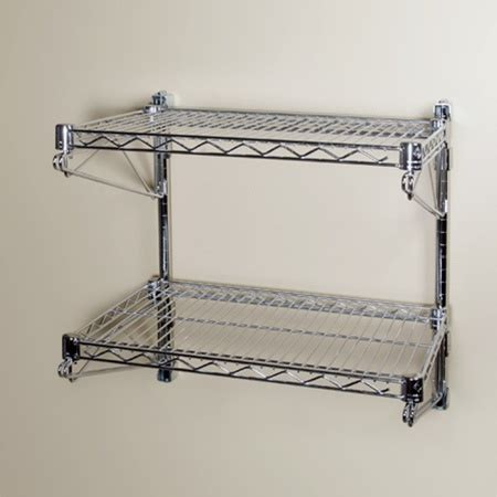 wall mounted wire shelving   shelves