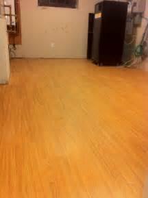 laminate flooring laminate flooring buckling basement