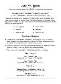 key attributes for resume 5 best sles resume objective exles sles of cv templates format best professional