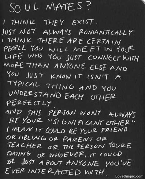 Soul Connection Quotes Tumblr