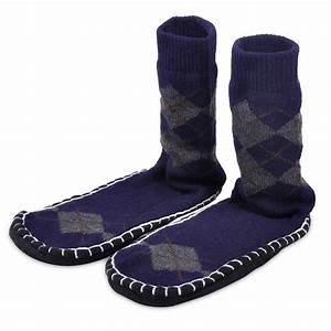 Pair men casual knitted floor slipper non slip thick socks for How to keep shoes from slipping on floor