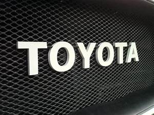 toyota letters metal miller azogss letters closejpg With toyota letters