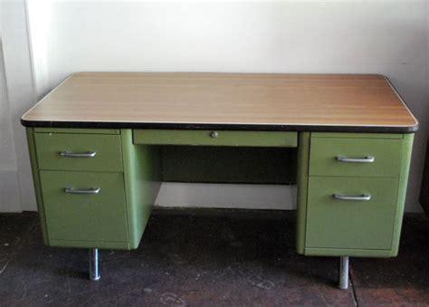 vintage metal desk for sale reserved superego78 vintage industrial green double