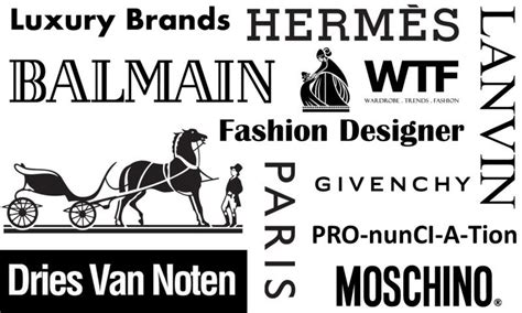 Luxury Brands & Fashion Designer Pronunciations