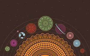 Chakra Earth Esoteric Planets Psychedelic Scheme Solar ...
