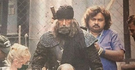 After Aamir, Big B's Look From Thugs Of Hindostan Gets