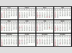 Calendario Del 2018 Colombia Con Festivos 2018 Calendar
