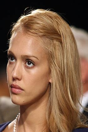 hairstyles jessica alba blonde long layered hairstyle