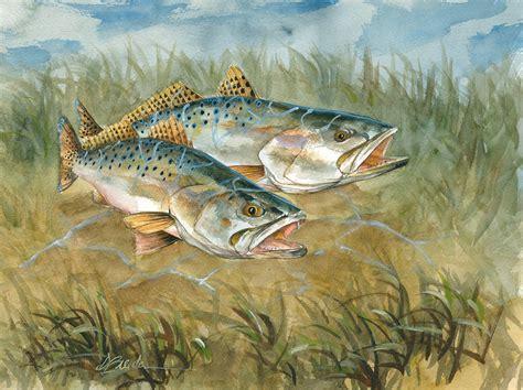 fish wildlife art by don breeden