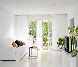 Clean, White, Living, Room