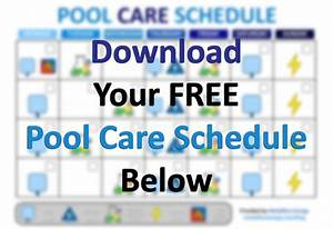 Make The Perfect Pool Care Schedule