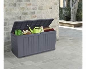 auflagenbox marvel 45x118cm anthrazit jetzt kaufen bei With französischer balkon mit aufbewahrungsbox holz mit deckel garten