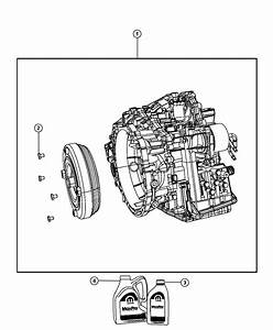 2012 Jeep Patriot Transaxle Package  With Torque Converter